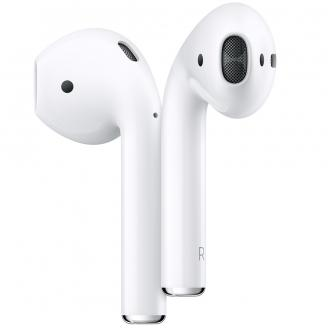 Casti Wireless Apple AirPods 2 cu charching case