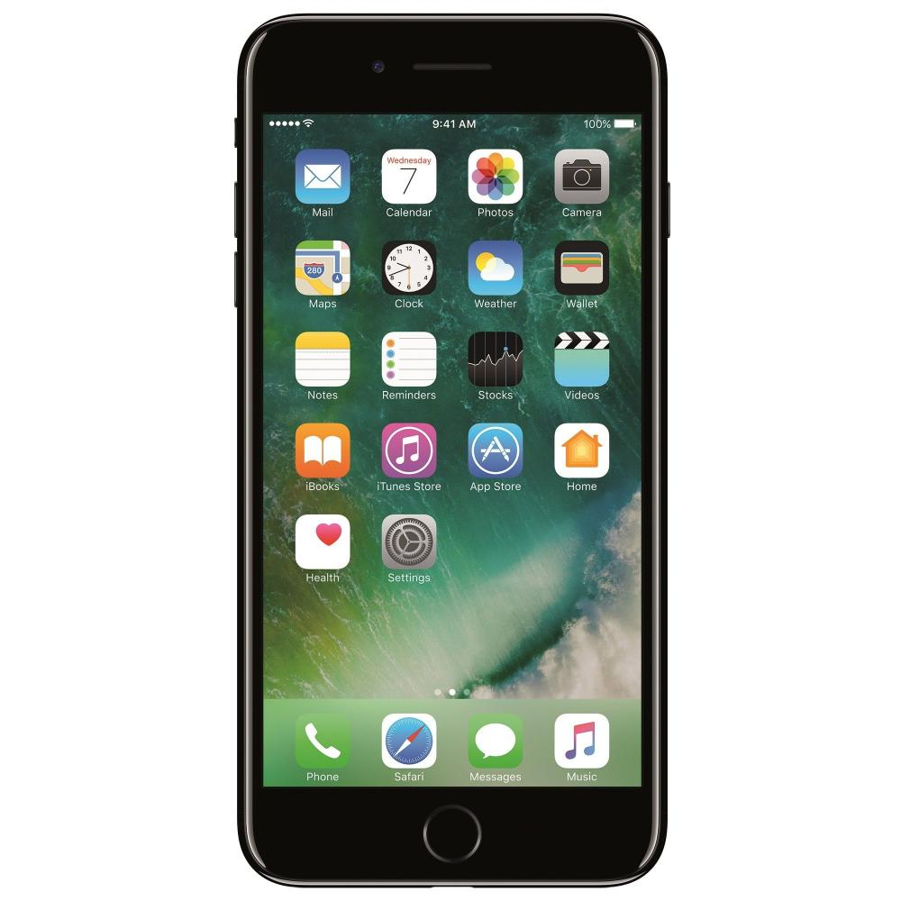 Apple iPhone 7 128GB Jet Black / Negru Lucios - Second Hand