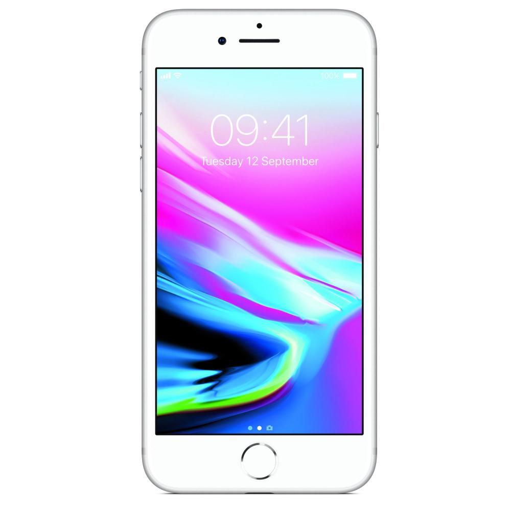Apple iPhone 8 64GB Silver - Codat Orange