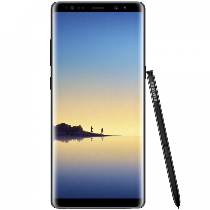 Samsung Galaxy Note 8 64GB  Single Sim (SM-N950) Midnight Black - Negru