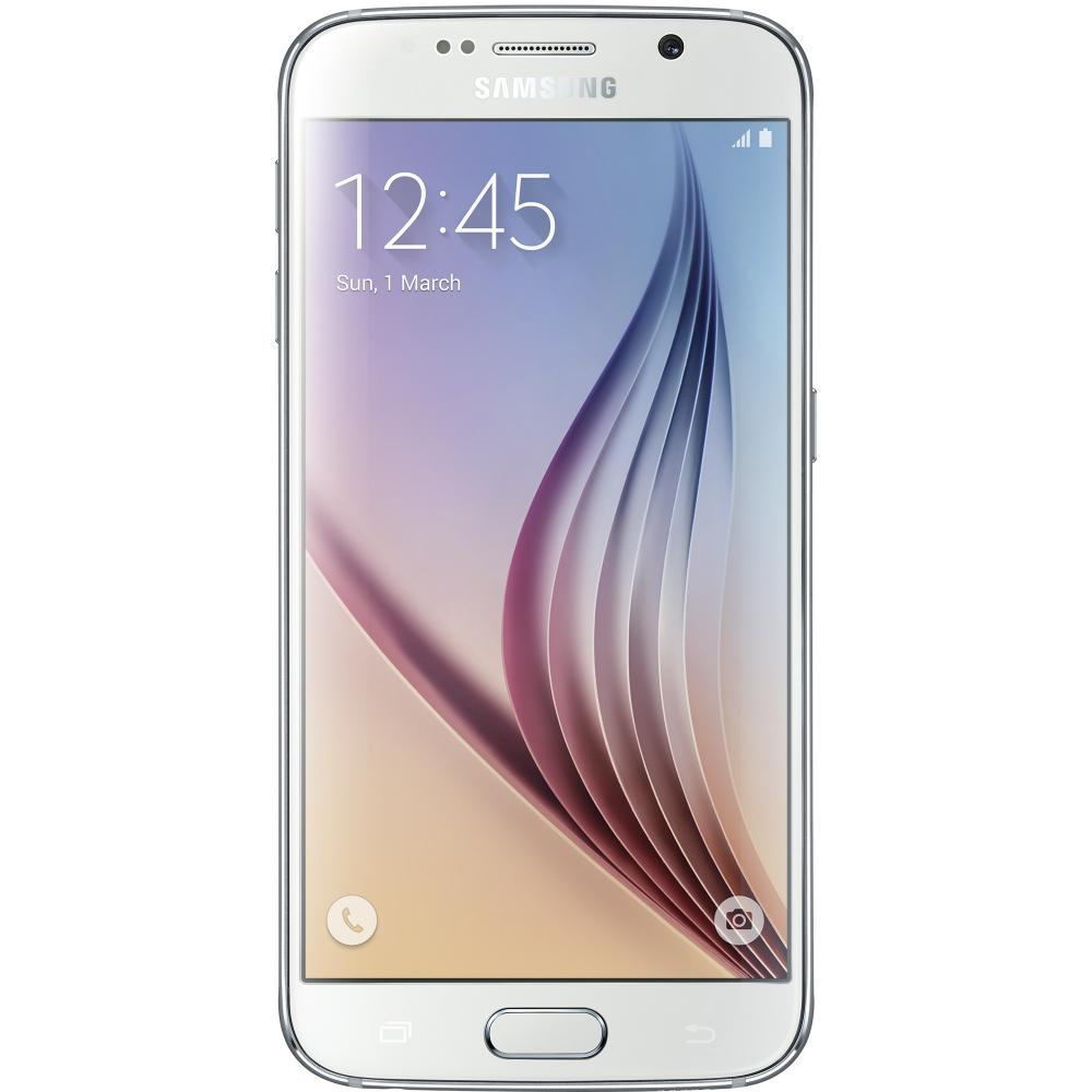 Samsung Galaxy S6 G920F Alb 32 GB - Pearl White - Second Hand