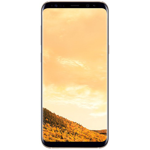 Samsung Galaxy S8 + (Plus) G955FD 64GB Dual Sim - Maple Gold - Auriu